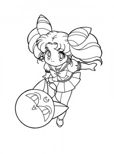 coloring page Sailor Moon (35)