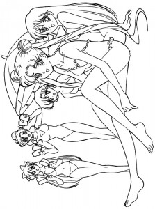 coloring page Sailor Moon (38)