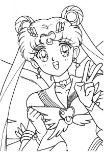 coloring page Sailor Moon (43)