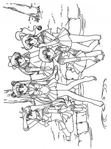 coloring page Sailor Moon (44)