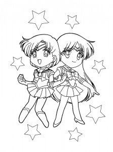 coloring page Sailor Moon (46)