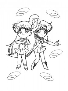 coloring page Sailor Moon (47)