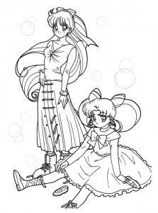 coloring page Sailor Moon (5)