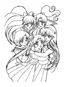 coloring page Sailor Moon (50)