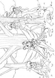målarbok Sailor Moon (55)