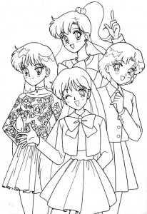 målarbok Sailor Moon (58)