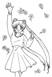 coloring page Sailor Moon (59)