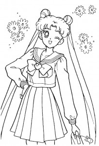 coloring page Sailor Moon (63)