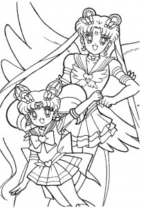 coloring page Sailor Moon (64)