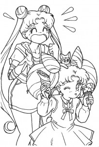 coloring page Sailor Moon (65)