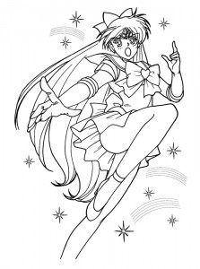 coloring page Sailor Moon (8)