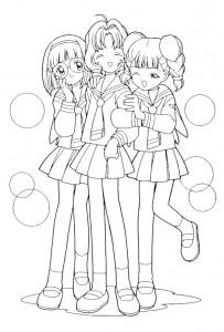 pagina da colorare Sakura (1)