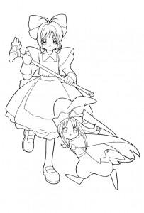 coloring page Sakura (11)