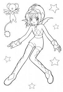 coloring page Sakura (13)