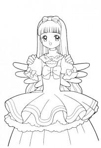 coloring page Sakura (14)