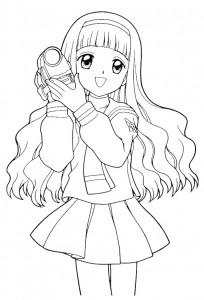 coloring page Sakura (15)