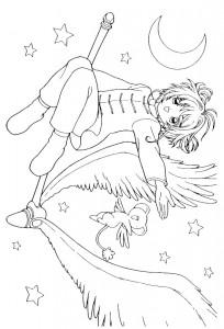 coloring page Sakura (17)