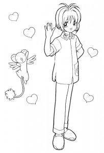 coloring page Sakura (19)