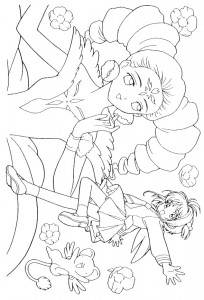 coloring page Sakura (21)