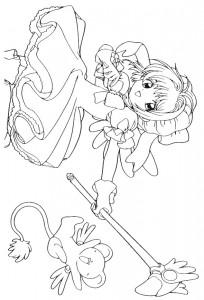 pagina da colorare Sakura (23)