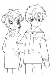 coloring page Sakura (24)