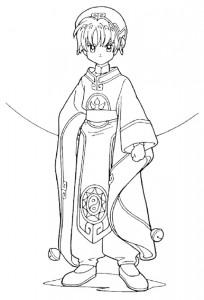 coloriage Sakura (7)