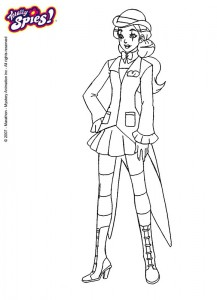 coloring page Sam (7)