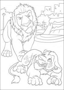 раскраска Самсон и Райан (1)