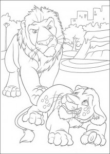 kleurplaat Samson en Ryan (1)