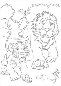 coloring page Samson and Ryan (2)