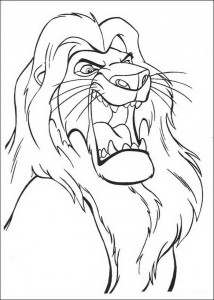 coloring page Scar