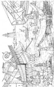 coloring page Shipyard