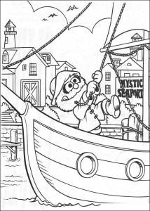 målarbok Skipper