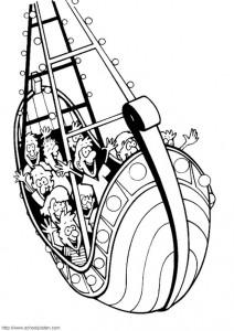 pagina da colorare Barca a dondolo