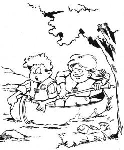Disegno da colorare Scouting (8)