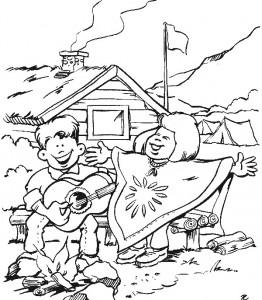 Disegno da colorare Scouting (9)