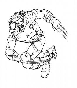 Dibujo para colorear Serval (5)