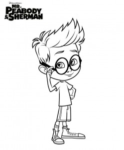 coloring page sherman 2