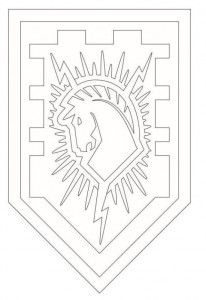 coloring page shields-1