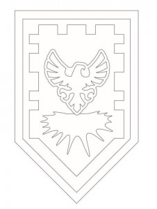 coloring page shields-2