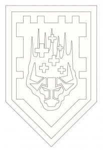 coloring page shields-3