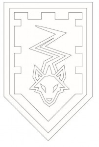 coloring page shields-4