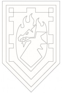 coloring page shields-5