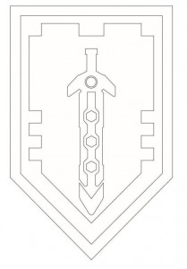 coloring page shields-6