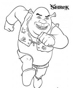 målarbok Shrek (1)