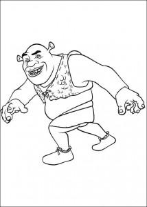 Malvorlage Shrek 4 (15)