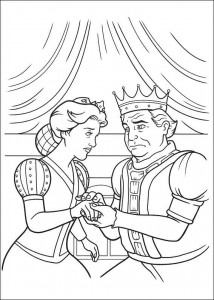 Dibujo para colorear Shrek 4 (18)