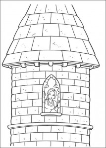 Dibujo para colorear Shrek 4 (19)
