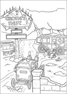 Dibujo para colorear Shrek 4 (20)