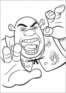 Dibujo para colorear Shrek 4 (27)